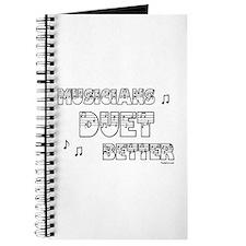 Musicians Duet Better Journal