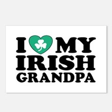 I Love My Irish Grandpa Postcards (Package of 8)