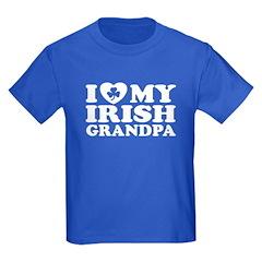I Love My Irish Grandpa T