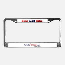 Bike Dad Bike License Plate Frame