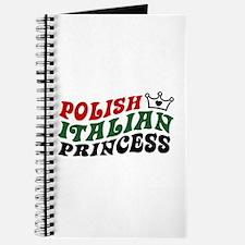 Polish Italian Princess Journal