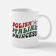 Polish Italian Princess Mug