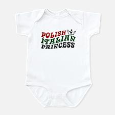 Polish Italian Princess Infant Bodysuit