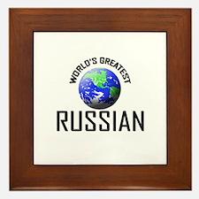 World's Greatest RUSSIAN Framed Tile