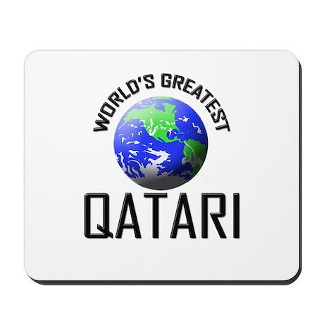 World's Greatest QATARI Mousepad