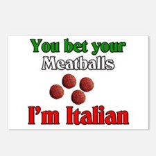 You Bet Your Meatballs Postcards (Package of 8)