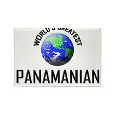 World's Greatest PANAMANIAN Rectangle Magnet