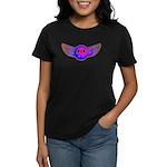 Peace Wing Groovy Women's Dark T-Shirt