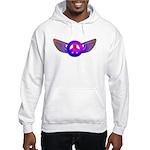 Peace Wing Groovy Hooded Sweatshirt