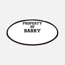 Property of BARRY Patch