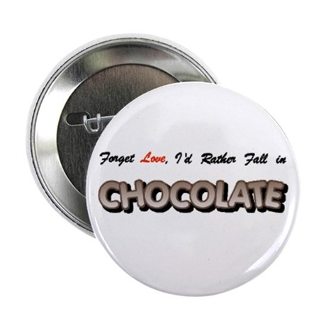 """...Fall in Chocolate 2.25"""" Button (10 pack)"""