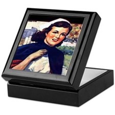 Senior Nurse Keepsake Box
