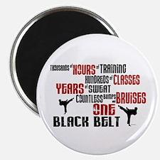 ONE Black Belt 2 Magnet