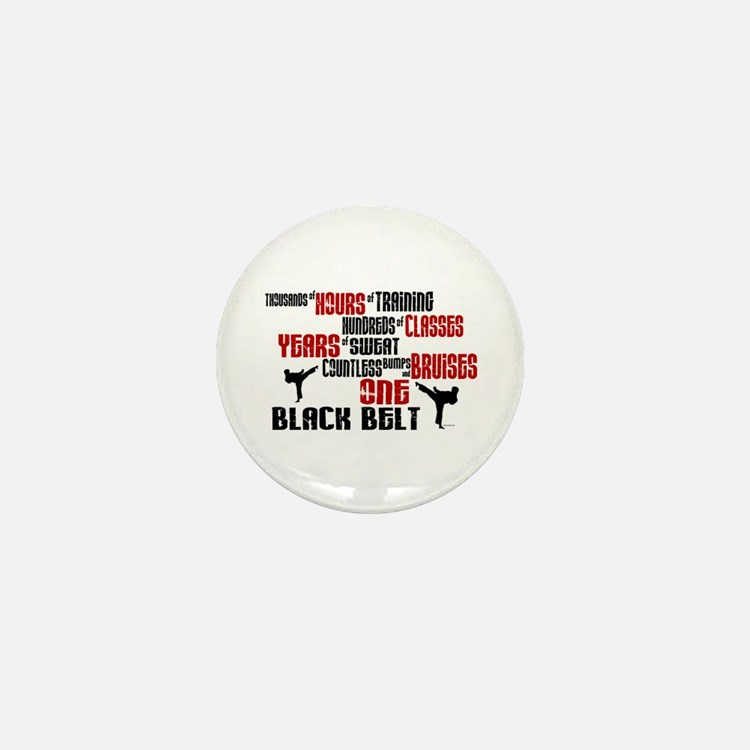 ONE Black Belt 2 Mini Button (10 pack)