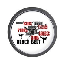ONE Black Belt 2 Wall Clock