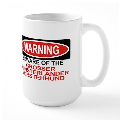GROSSER MUNSTERLANDER VORSTEHHUND Large Mug