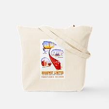 PRR Drumhead Logo Tote Bag