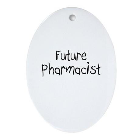 Future Pharmacist Oval Ornament