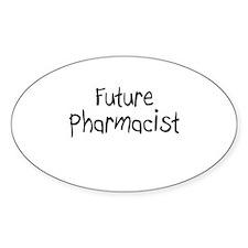 Future Pharmacist Oval Decal