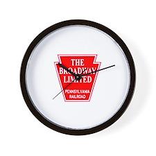 PRR Drumhead Logo Wall Clock