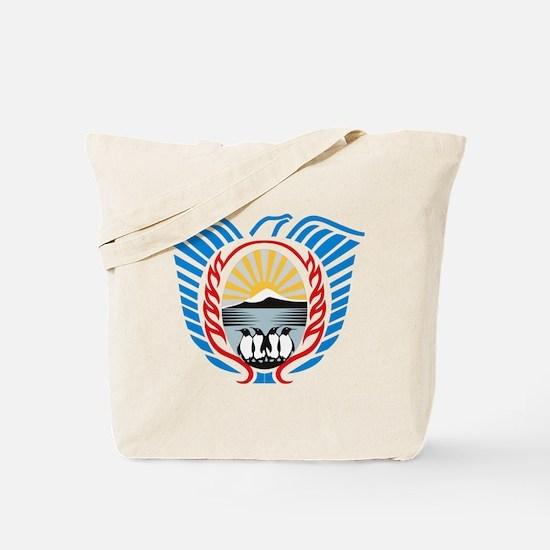 Tierra Del Fuego Coat of Arms Tote Bag