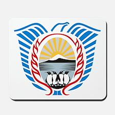 Tierra Del Fuego Coat of Arms Mousepad