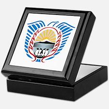 Tierra Del Fuego Coat of Arms Keepsake Box