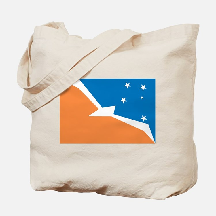 Tierra Del Fuego Flag Tote Bag