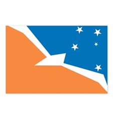 Tierra Del Fuego Flag Postcards (Package of 8)