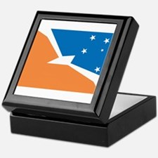 Tierra Del Fuego Flag Keepsake Box