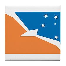 Tierra Del Fuego Flag Tile Coaster
