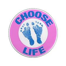 "Choose life? 3.5"" Button"
