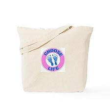 Choose life? Pro-life Tote Bag.