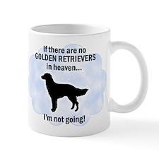 Golden Retrievers In Heaven Mug