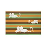 Chinese Year of the Rat Rectangle Magnet