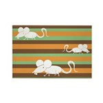 Chinese Year of the Rat Rectangle Magnet (100 pack