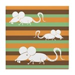 Chinese Year of the Rat Tile Drink Coaster