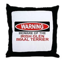 IRISH GLEN IMAAL TERRIER Throw Pillow