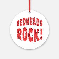 Redheads Rock Keepsake (Round)