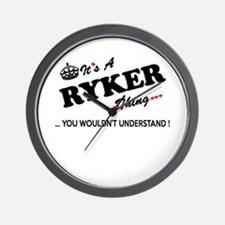 RYKER thing, you wouldn't understand Wall Clock