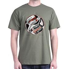 Eagle Raven Yin-Yang T-Shirt