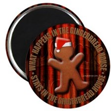 "gingerbread 2.25"" Magnet (10 pack)"
