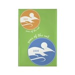 2008 Year of the Rat Rectangle Magnet (100 pack)