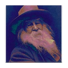 Walt Whitman Tile Coaster