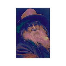 Walt Whitman Rectangle Magnet (10 pack)