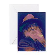 Walt Whitman Greeting Card