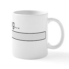 Brain loading, please wait Small Small Mug
