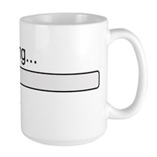 Brain loading, please wait Ceramic Mugs