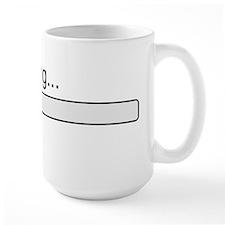 Brain loading, please wait Mug