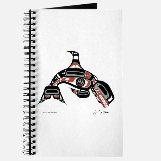 Diving Killer Whale Journal